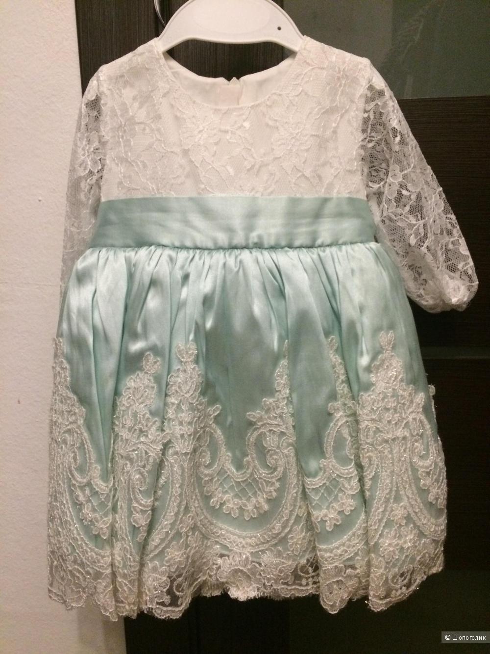 Платье детское Bebesel, размер 74-80
