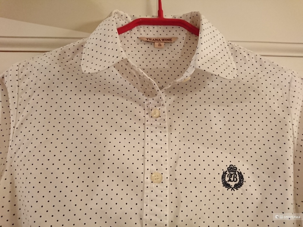 Набор рубашек (3 шт.), ноунейм, размер 46