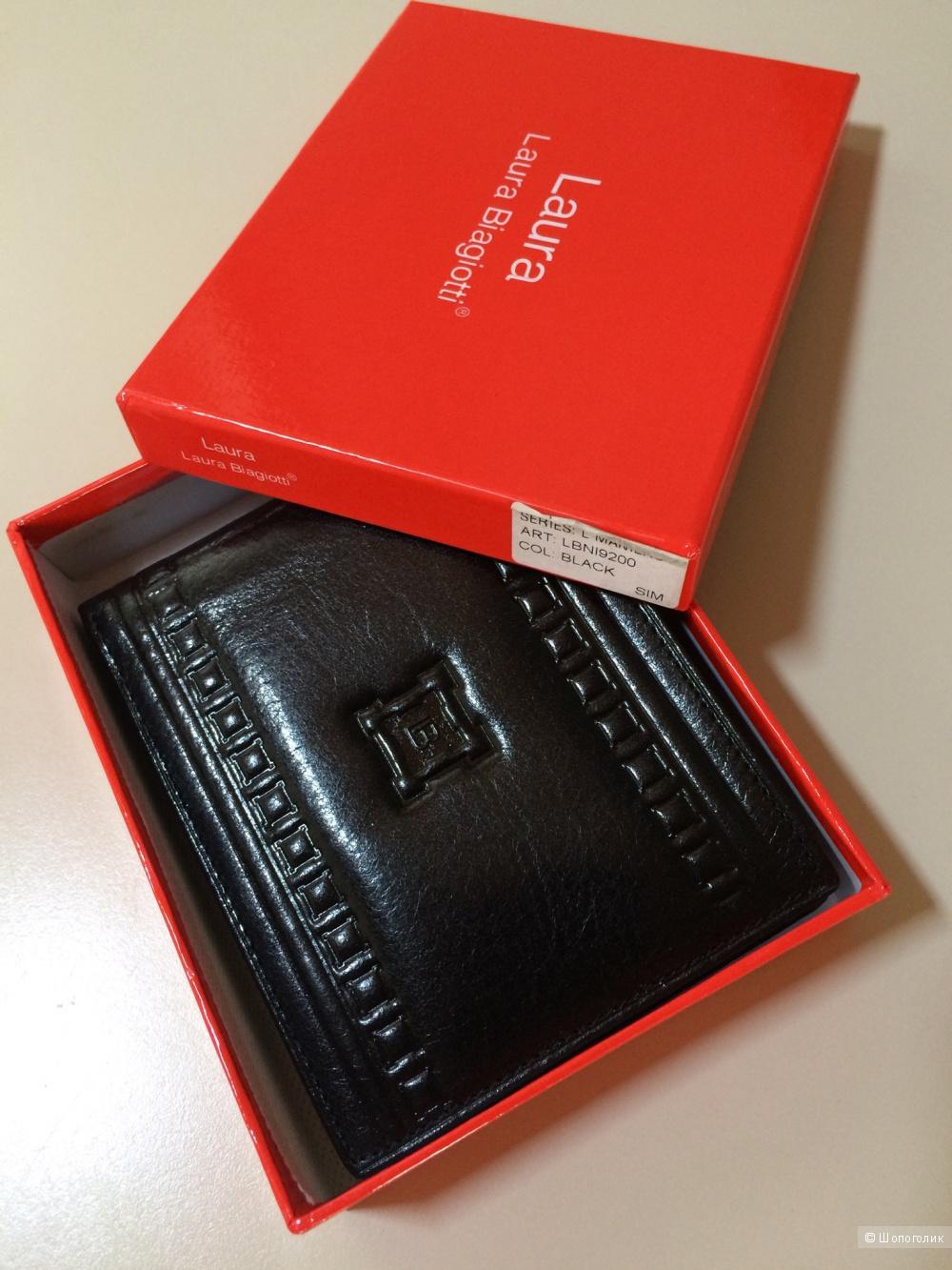 Мужской кошелёк-портмоне Laura Biagiotti