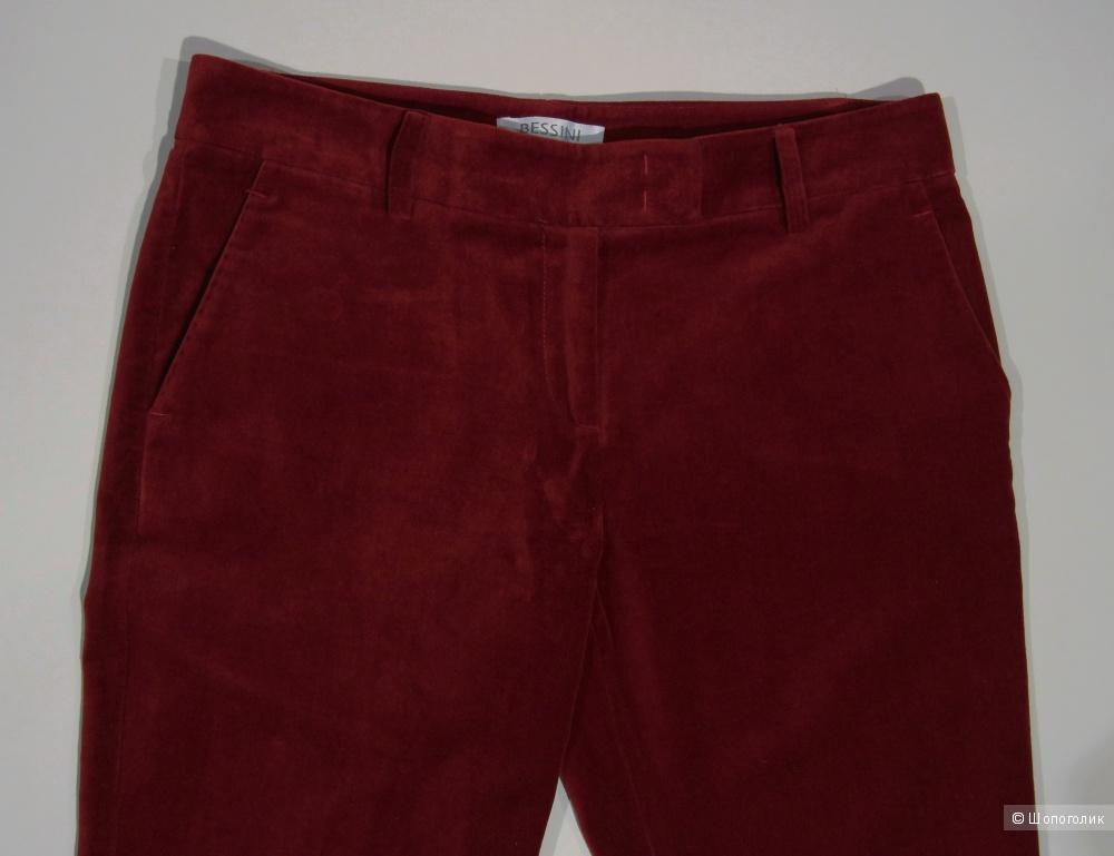 Бархатные брюки BESSINI размер 38 (44-46М)