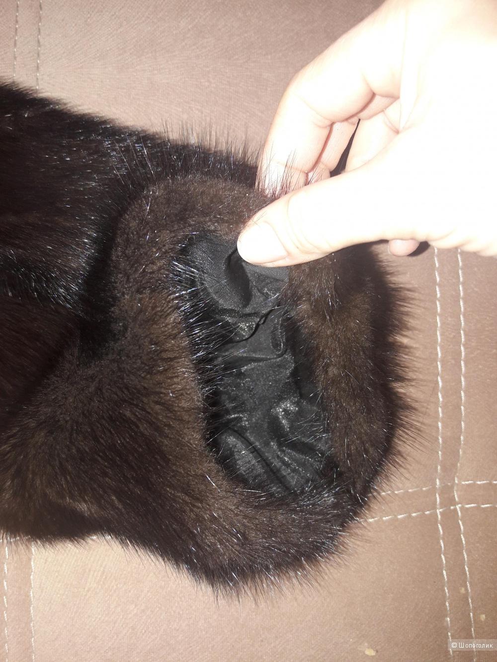 Норковая шуба Русский мех 52-54 размера
