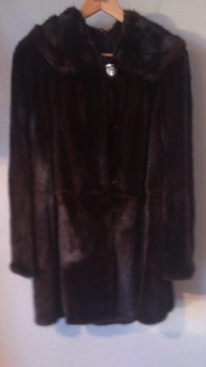 Шуба женская норковая с капюшоном Xuegongzhu fur XS