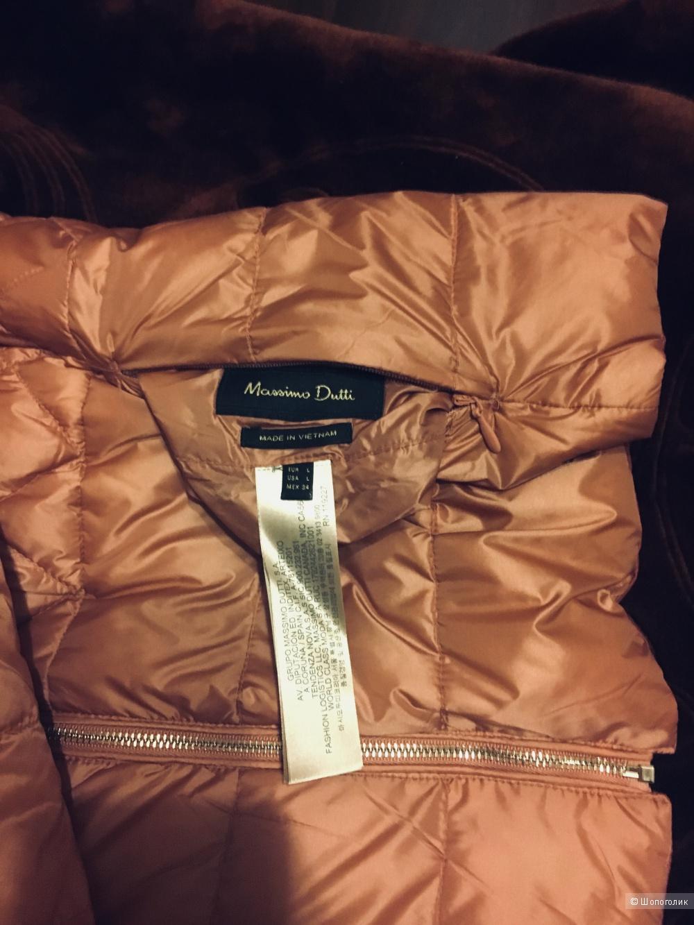Стёганная куртка Massimo Dutti, размер L