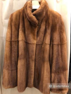 Норковая шуба Mr Furs by Makis Roussoulis, 48 размер