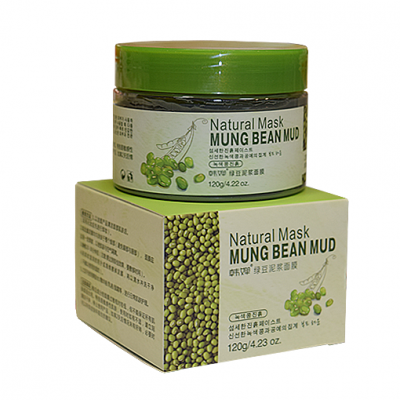 Маска Грязевая с зелеными бобами Bioaqua