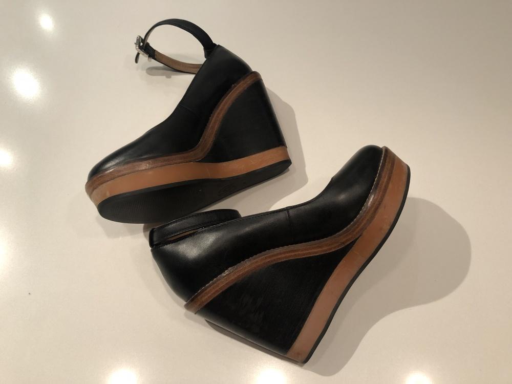 Туфли на платформе, Armani Jeans, 37