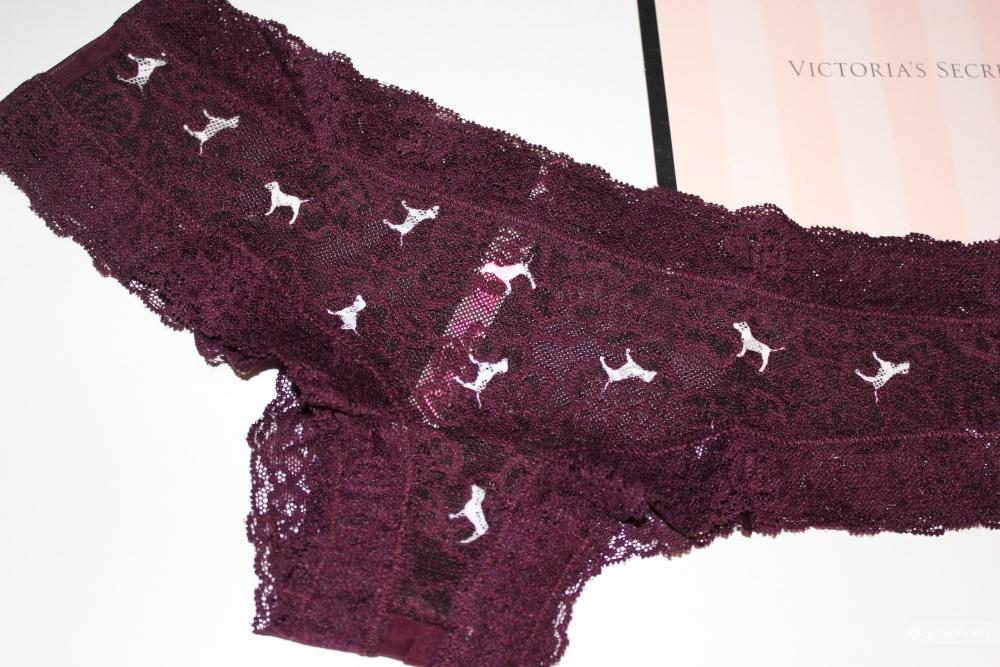 Трусики Pink от Victoria's Secret, размер S (44) ОБ до 98 см