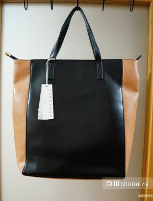 Набор из двух вещей: сумка Stefanel и платок