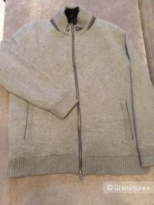 Куртка (свитер) кашемир+мех кролика Mauro Conte 58р