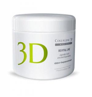 Альгинатная маска REVITAL LINE 200 г, Medical Collagene 3D