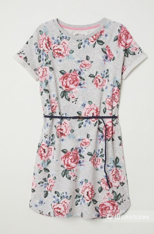 Платье-свитшот H&M, размер S