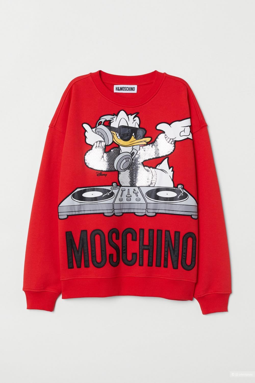 Moschino H&M Свитшот с аппликацией XS, M