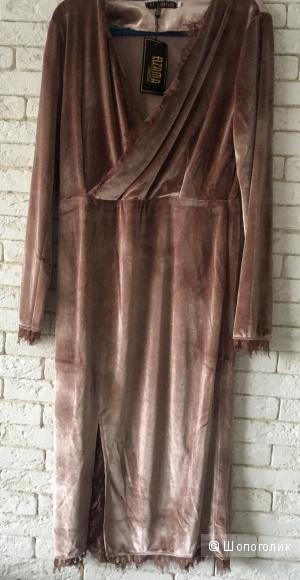 Платье  бархатное ELZAMA, M-XL