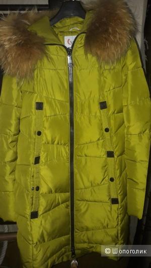 """Пальто зимнее, """"visdeer""""размер м"""