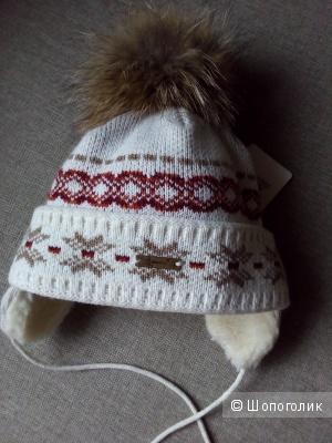 Детская зимняя шапка - 2-4 года