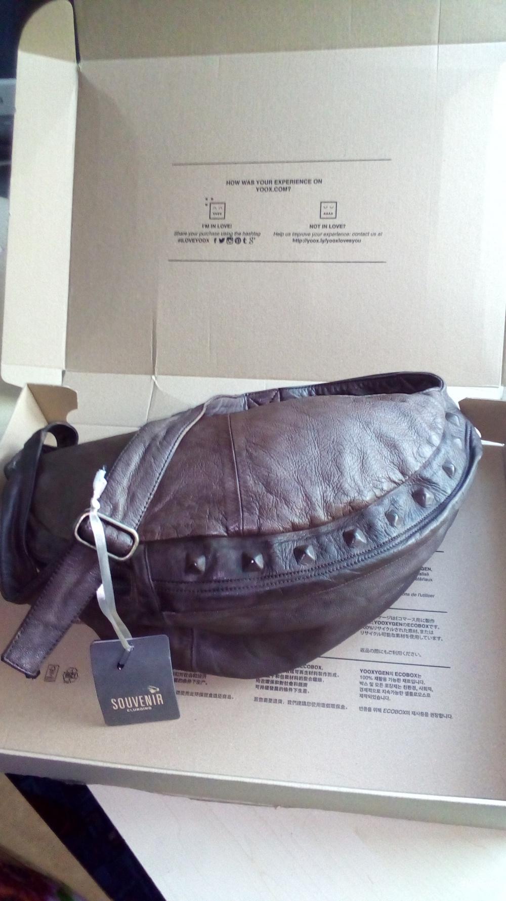 Кожаная сумка SOUVENIR
