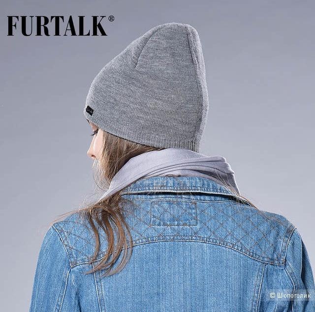 Шапка Furtalk one size