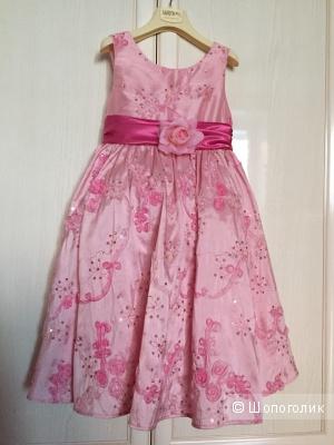 Платье на праздник Melody kids, размер 5-6