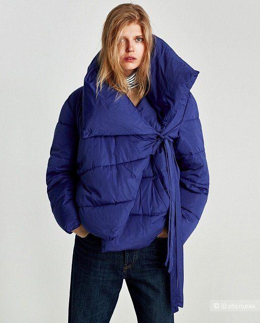 Пуховик Zara xS
