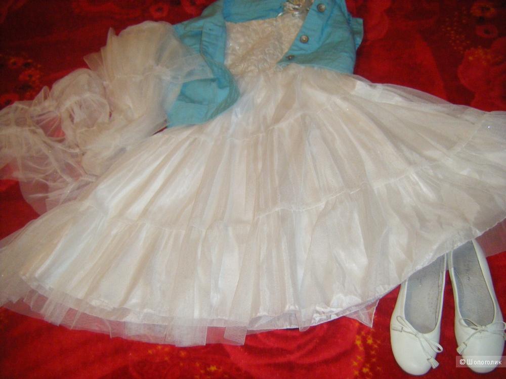 Платье нарядное, 6-9 лет