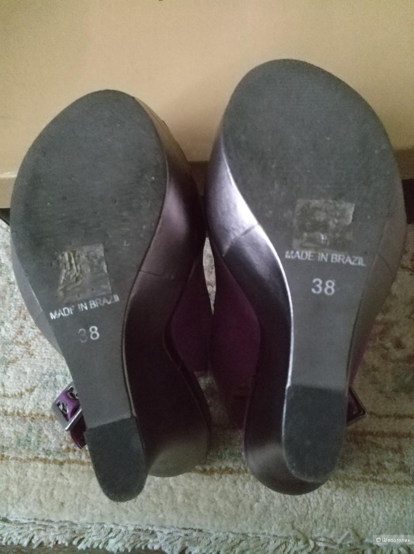 Босоножки Carvela Allison Wedge Platform Peep Toe Slingbacks, UK 5  ( EU 38)