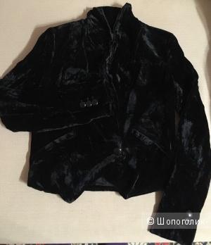 Бархатный пиджак/жакет BSBG, размер XS