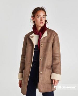 Дубленка Zara XS
