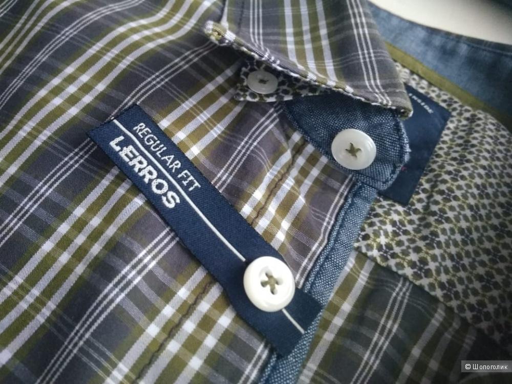 Рубашка мужская LERROS, размер 50