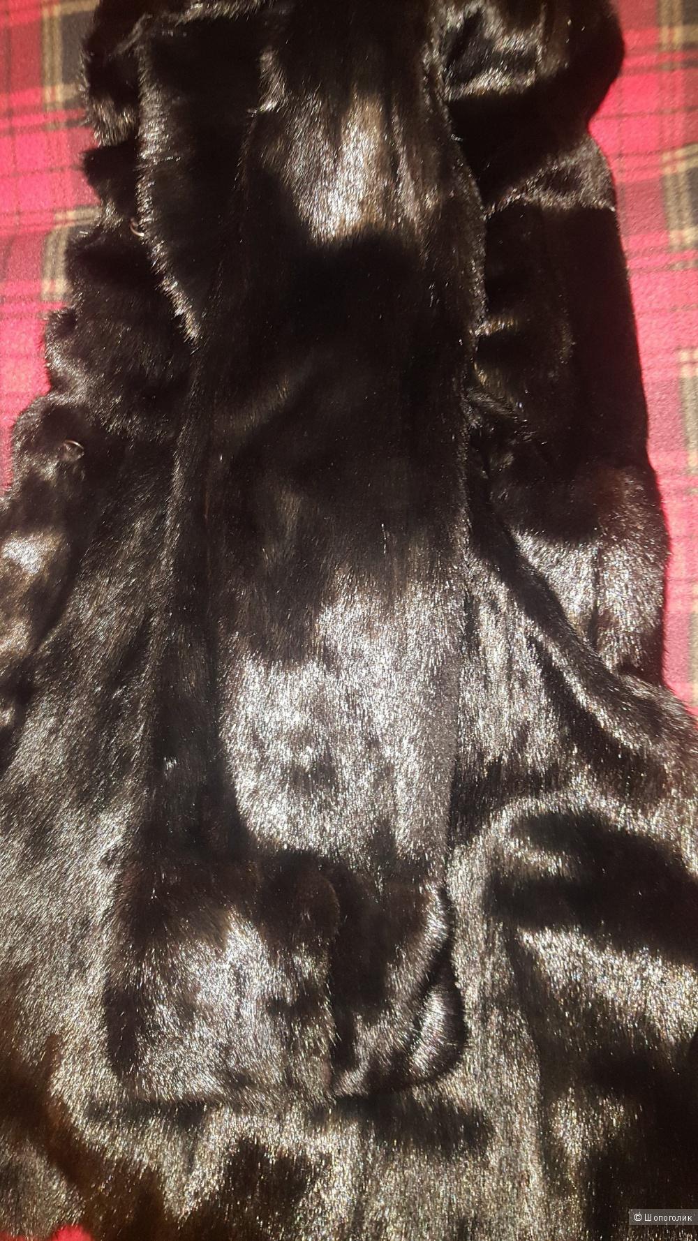Норковая шуба Themillifur, размер 42-46