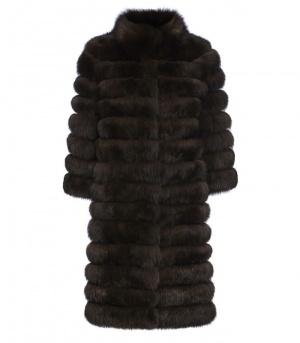 Меховое пальто из песца Fellicci, 40-44 р-р