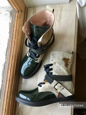 Высокие ботинки Brunello Cucinelli, 38р.