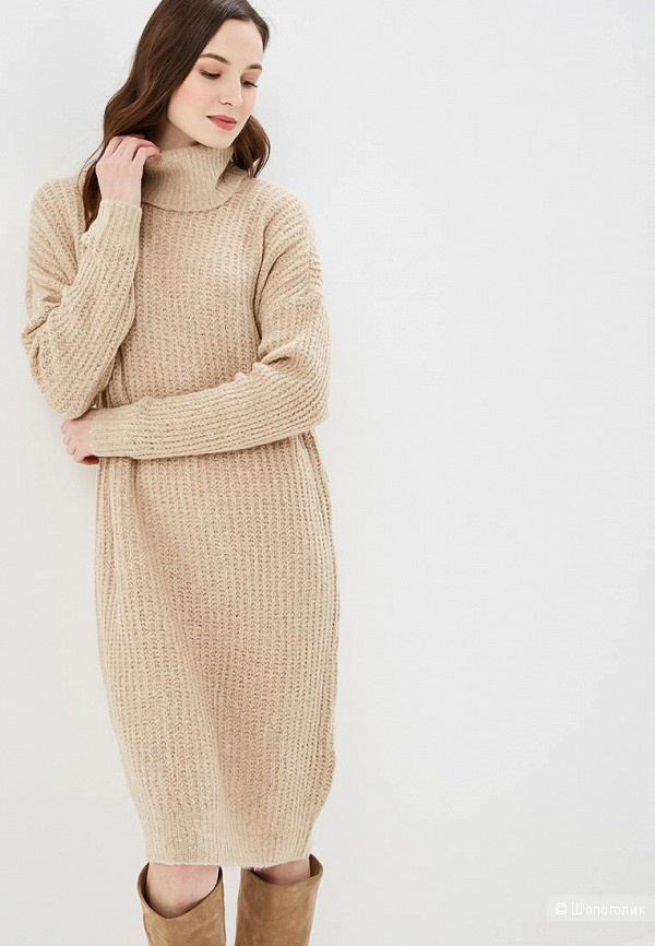 Тёплое платье-кокон Only, S/M