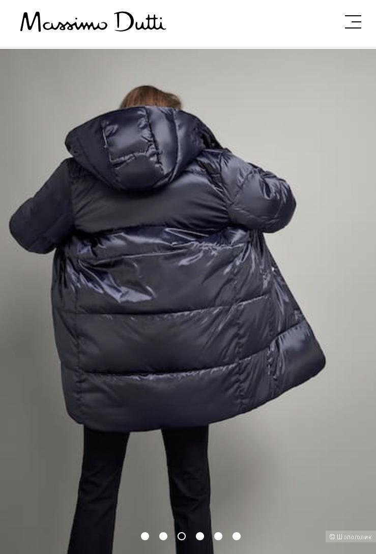 Куртка пуховик Massimo Dutti 42-44(s-m)