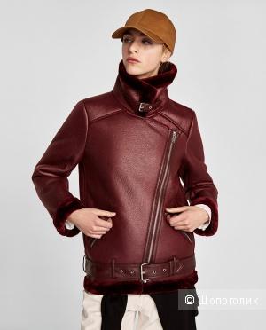 Куртка дубленка ZARA размер S