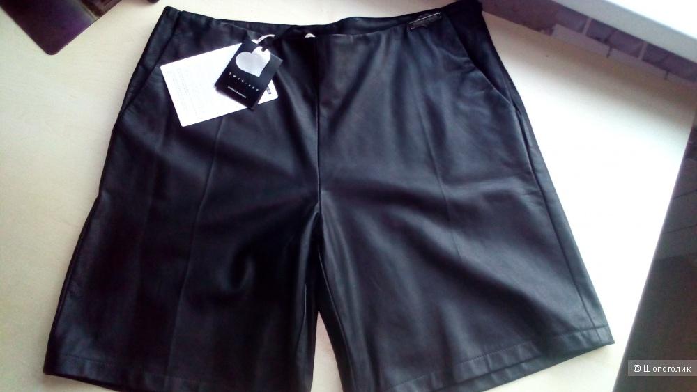 Кожаные шорты Twin-Set Simona Barbieri размер М.