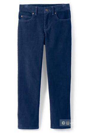 Утепленные вельветовые джинсы Landsend 12 slim