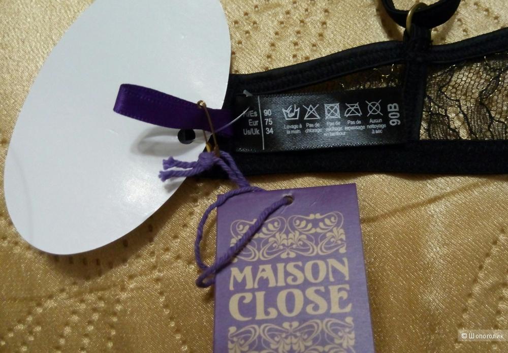 Бюстгалтер-бра Maison Close размеры 70В, 75В