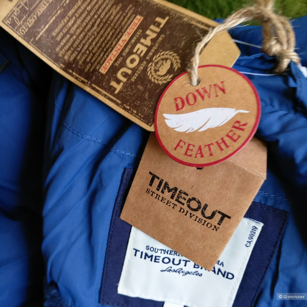 Пуховик TimeOut Brand размер S 42-44