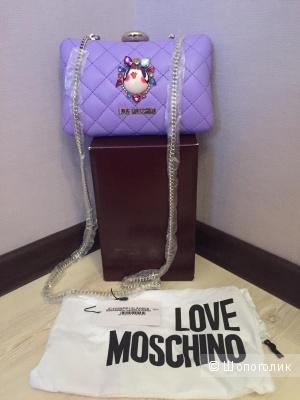 Сумочка-клатч Love Moschino