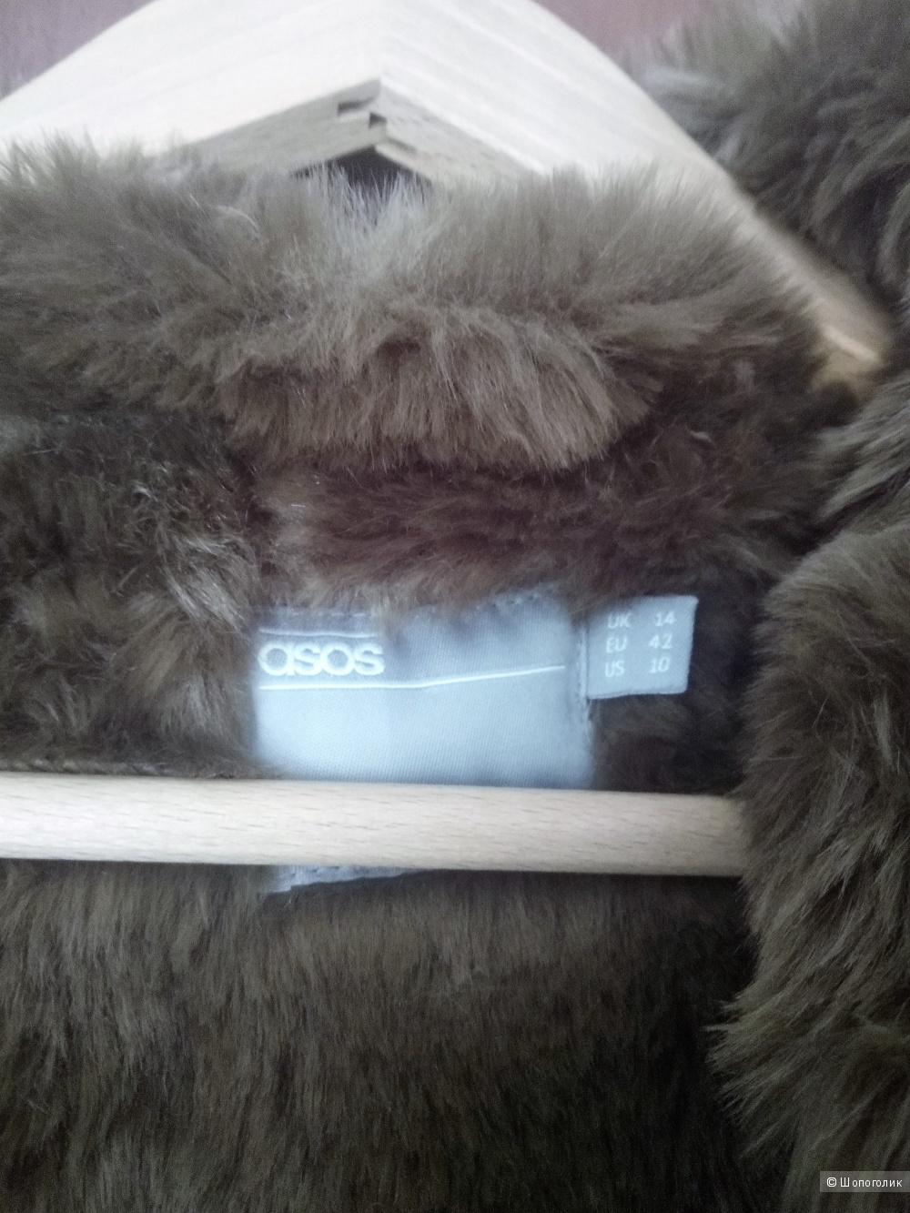 Парка со съемной меховой подкладкой ASOS. Размер EU 42