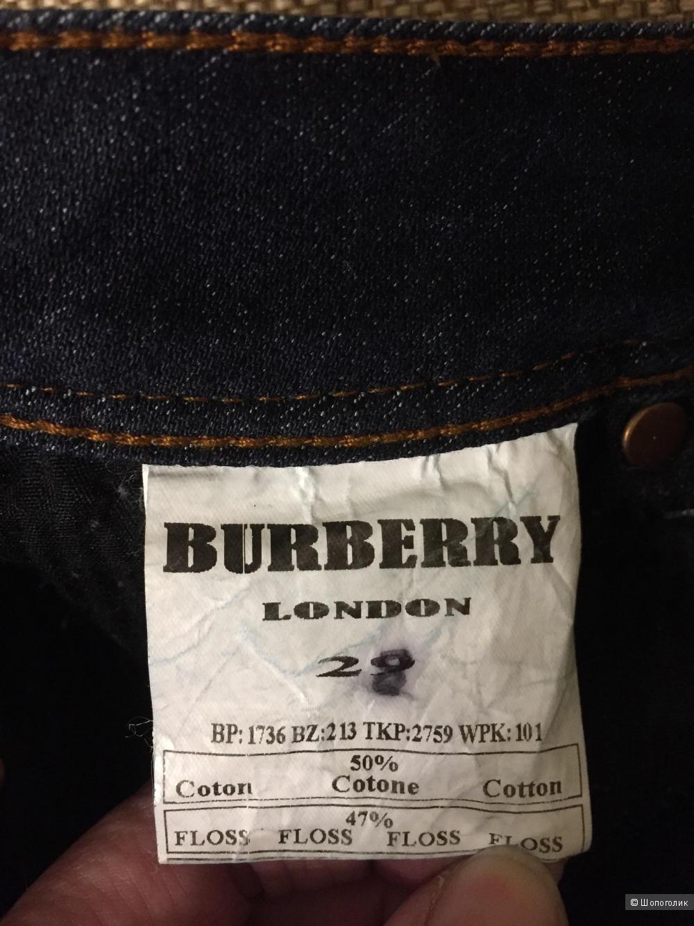 Джинсы Burberry 44 размер