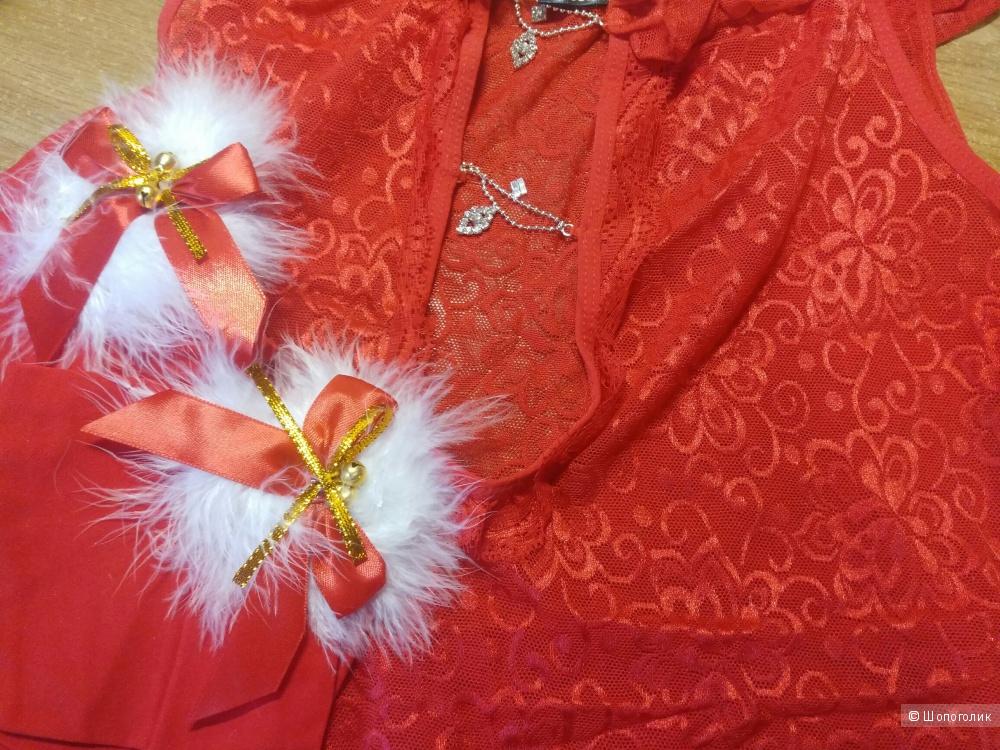 Сорочка и новогодние гольфы «Diamond» размер M-L-XL от Obsessive .
