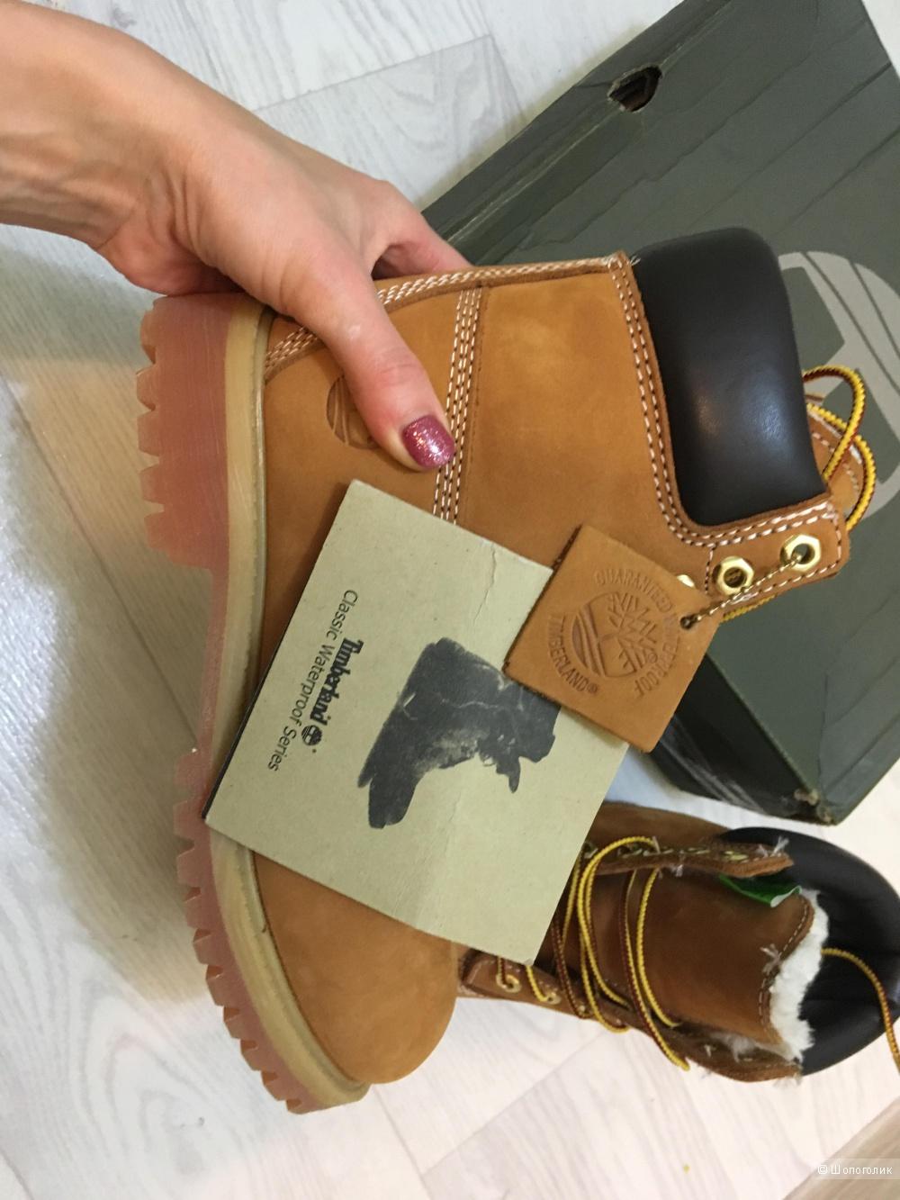 Ботинки в стиле Timberlands 36 размер