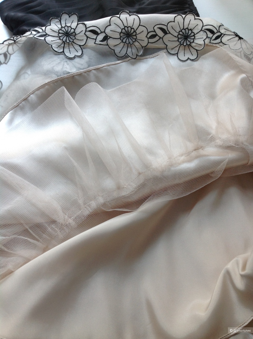 Платье baby-doll от Betsey Johnson, размер 2 US.