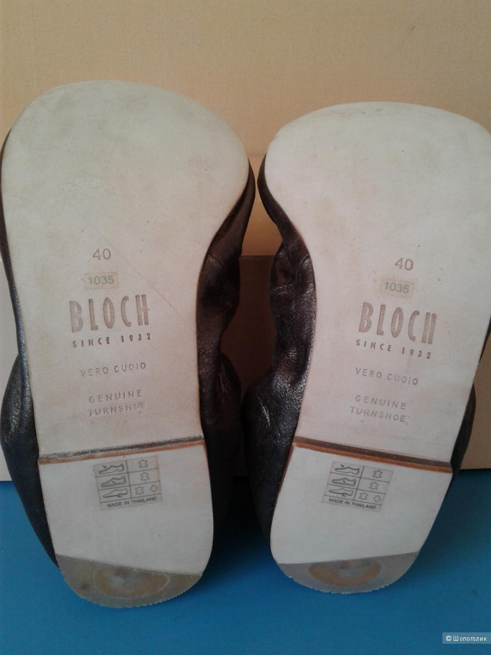 Балетки Bloch, размер UK7 евро 40