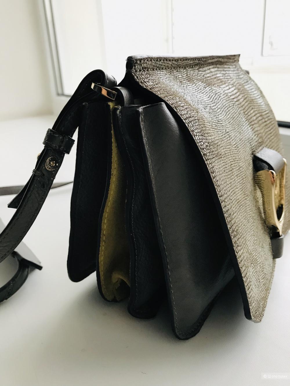 Кожаная сумка Paul Costelloe