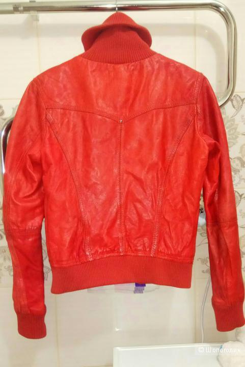 Куртка кожаная Berchka размер S/M