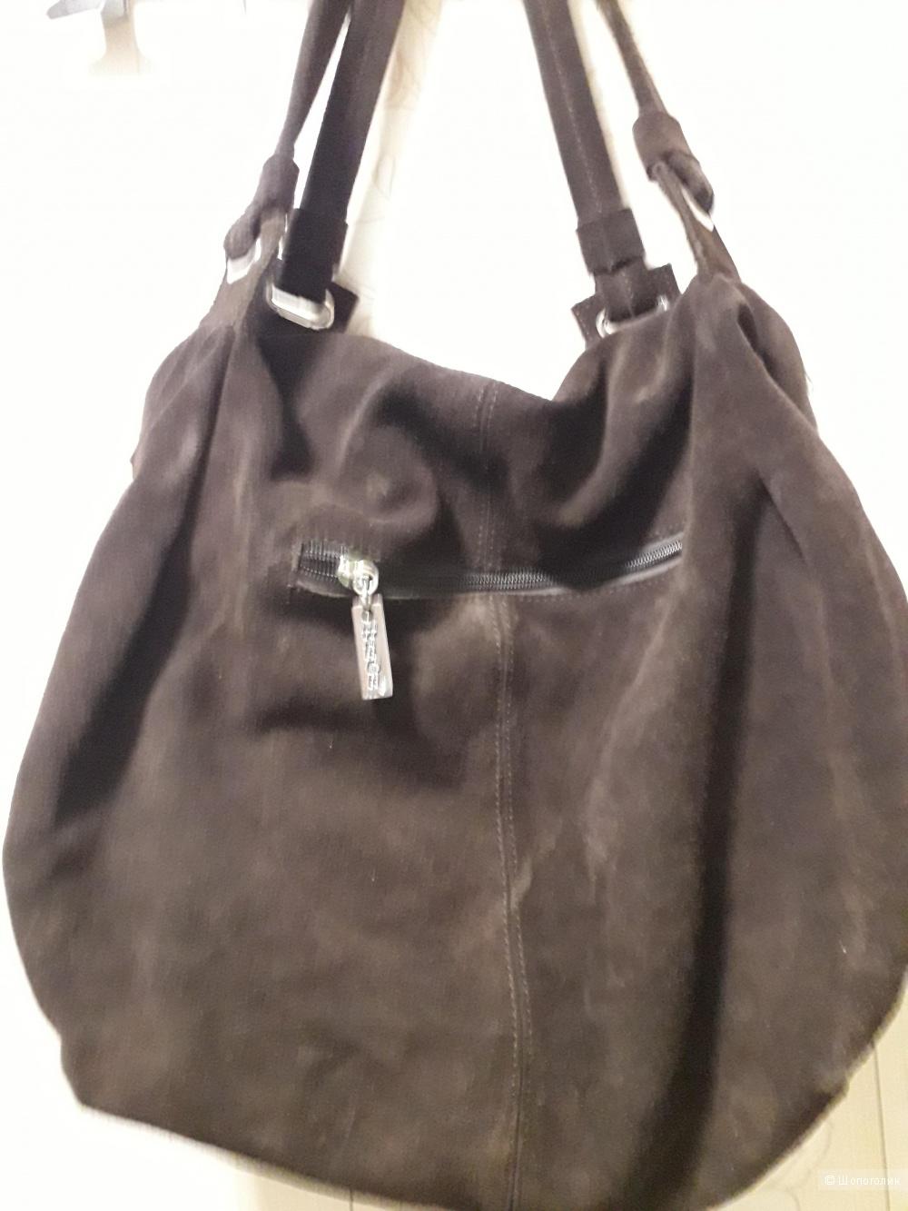 Замшевая сумка BIEGE