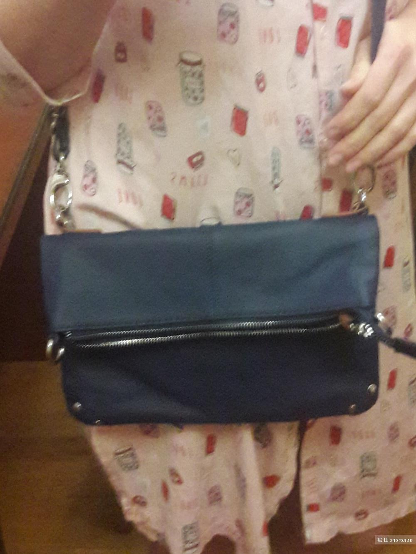 Кожаная сумка Joy Mangano