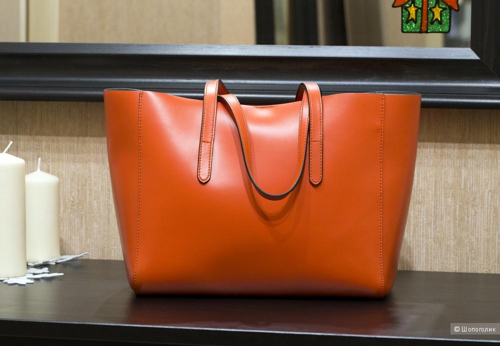 Сумка-шоппер женская, - Coccinelle Kim, medium.